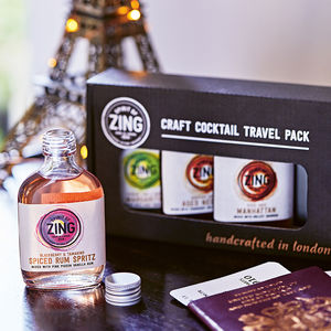 Cocktail Travel Pack - stocking fillers