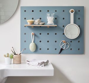 Peg It All Pegboard Storage Panel - hooks, pegs & clips