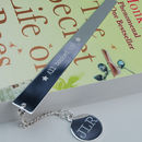Personalised Book Lover Gift Bookmark