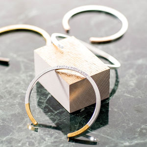 Personalised Dipped Bar Bangle - shop by occasion