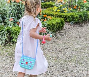 Stripy Gem Mini Bag