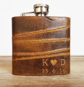 Personalised Valentines Hip Flask