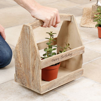 Personalised Gardening Tool Caddy