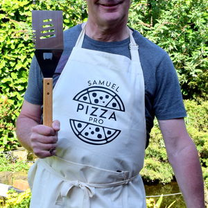 Personalised Pizza Pro Apron - summer sale
