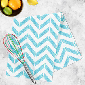 Let's Take A Dip! Aqua Tea Towel - kitchen accessories