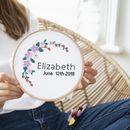 Flower Power Wreath Cross Stitch Kit