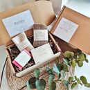 'Anniversary Pamper Box' Personalised Eco Vegan Set