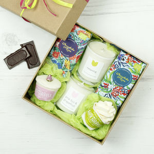 Personalised Ultimate 'Survival Box' - bath & body