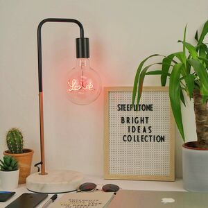 Bright Ideas Collection LED Text Bulbs