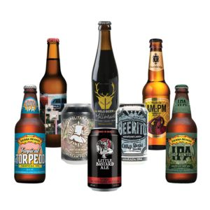Eight Mixed Craft Beers And Ferment Magazine - for him
