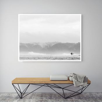 Morning Paddle, Canvas Art