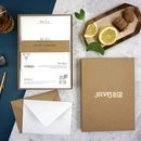 The Cocktail Collection Personalised Writing Set