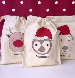 Personalised Christmas Bags - christmas decorations