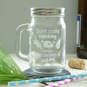 Caravan Rocking Drinking Jar - tableware