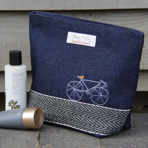 Bicycle Vintage Racer Wash Bag - make-up bags