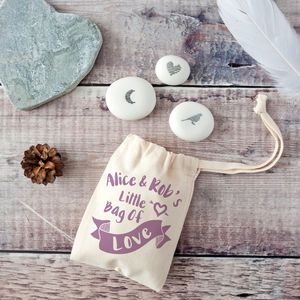 'Little Bag Of Love' Keepsake Pebble Token Kit