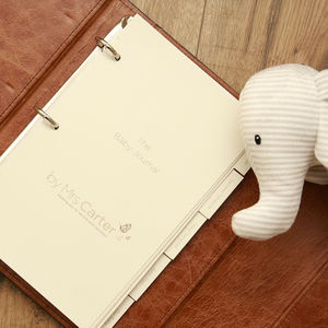 Personalised Luxury Baby Journal Inserts - shop by price