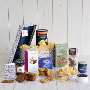 Gluten free nut free vegan hampers notonthehighstreet luxury gluten free hamper dietary hampers negle