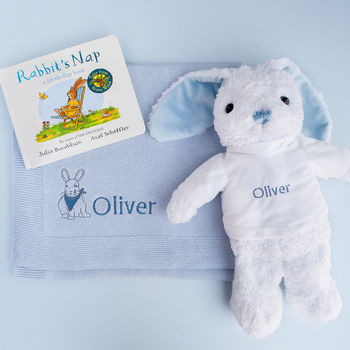 Personalised Baby Boy Story Time Gift