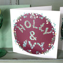 Holly And Ivy Square Cards Red