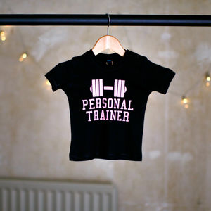 Personal Trainer Baby T Shirt - baby & child sale