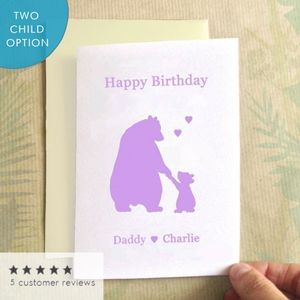 Birthday Bears Birthday Card - birthday cards