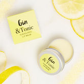 Gin And Tonic Flavoured Lip Balm - health & beauty