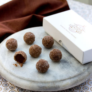 Espresso Martini Chocolate Truffle Gift Box - 50th birthday gifts