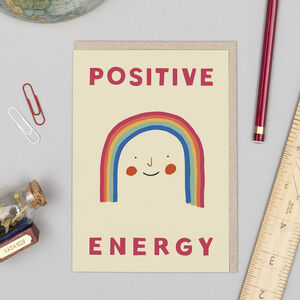 'Positive Energy' Card