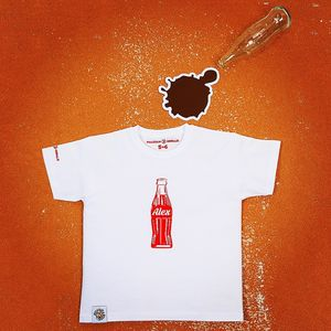 Personalised Fizz Bottle T Shirt