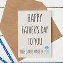 Funny Father's Day Elephant Dung Card