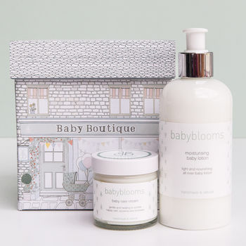Moisturising Baby Lotion And Baby Care Cream Gift Set