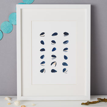 Mollusc Illustration Giclee Print