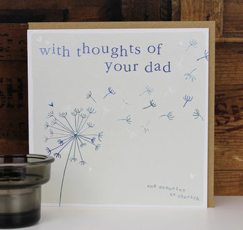 Dad Or Mum Sympathy Card