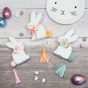 Bunny Rabbit Piñata Style Table Favours