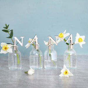 Personalised Mini Nana Vase
