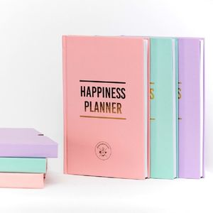 100 Day Happiness Planner - 2017 diaries