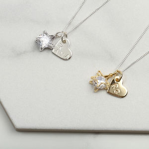 New Mum Gift Personalised Heart Necklace - new in jewellery
