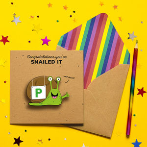 Congratulations You've Passed Funny Greeting Card