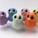 Needle Felted Mini Pastel Chick