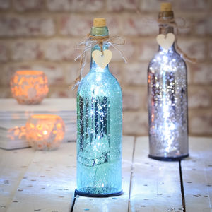 Sparkle Light Up Firefly Bottles - living room
