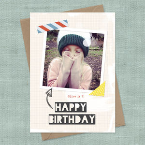 Personalised Instagram Birthday Card - birthday cards