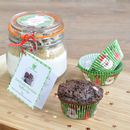 Personalised Xmas Quad Choc Muffin Mix