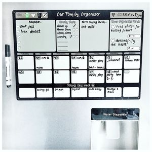 Personalised Family Organiser Whiteboard - new in home