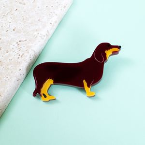 Dachshund Sausage Dog Brooch - pins & brooches