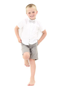 Boys French Designer Linen Occasion Outfit