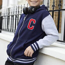 Personalised Hooded Embroidered Varsity Jacket