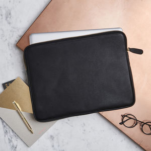 Luxury Leather Portfolio Case