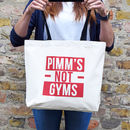 'Pimm's Not Gyms' Tote Bag