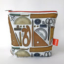 Vintage Stationery Pouch
